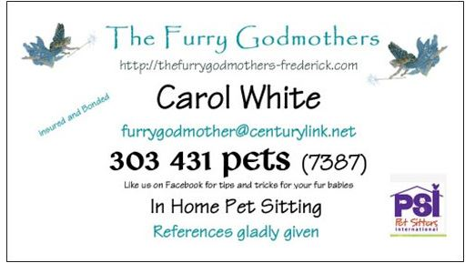 The Furry Godmother's business card